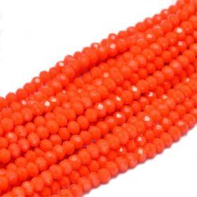 Slavík 4x3 mm, 149 ks, plnobarevná oranžová
