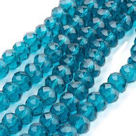 Slavík 8x6 mm, 72 ks, modrozelená